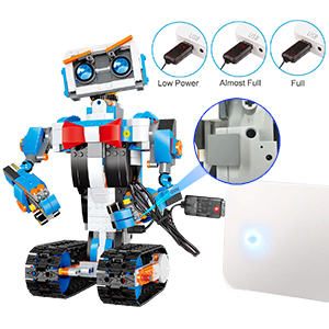 5d2a0ce7 84d5 4c65 aaf7 d324fdf7f0b3.  CR0,0,300,300 PT0 SX300 V1    - okk STEM Robot Building Block Toy for Kids, Remote and APP Controlled Engineering Science Educational Assembling Learning Kits Intelligent Rechargeable Creative Set for Boys Girls Gift (635 Pieces)