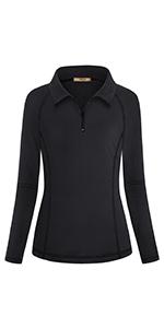 Miusey Women's Running Polo Shirts