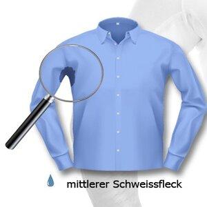 laulas Camiseta interior funcional para hombre, sin manchas de sudor, con tejido de rizo absorbente integrado, sin manchas de sudor.