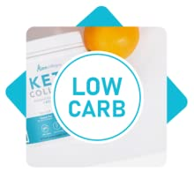 Low Carb Keto Collagen Icon
