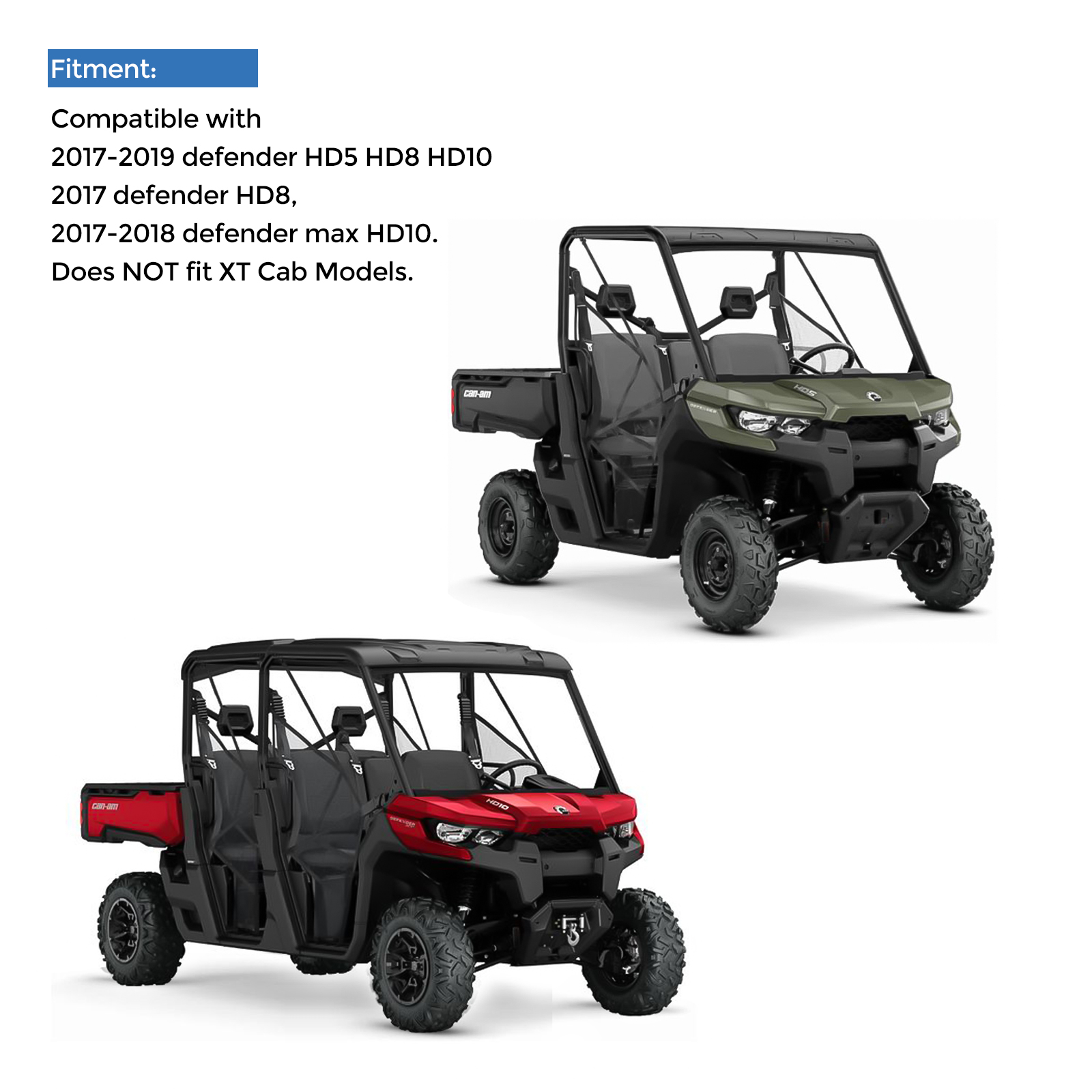 Dash Storage Cargo Compartment Nets for Can Am Defender HD8 HD10 16-20 715003129