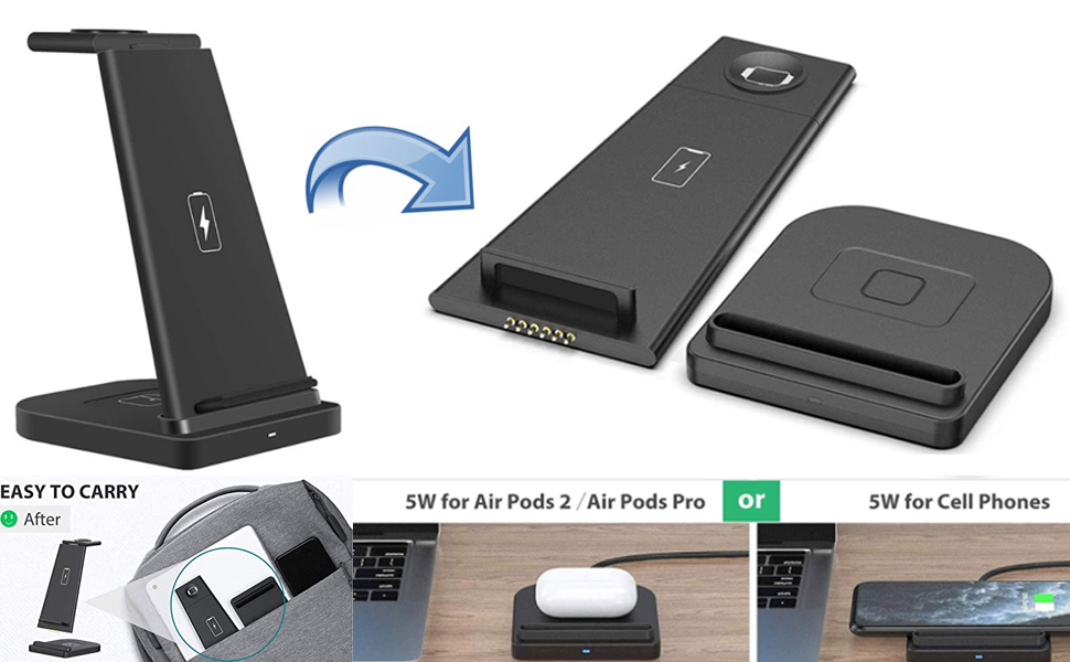 3 in 1 charger dock