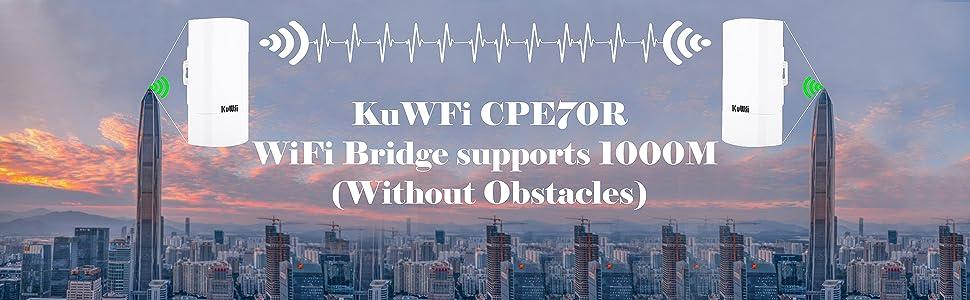 KuWFi Wireless WiFi Bridge