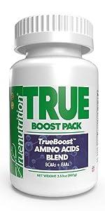 true nutrition trueboost custom protein powder amino acid blend