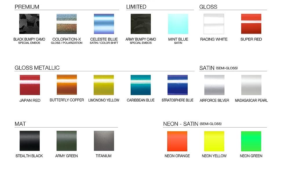 Color lineup