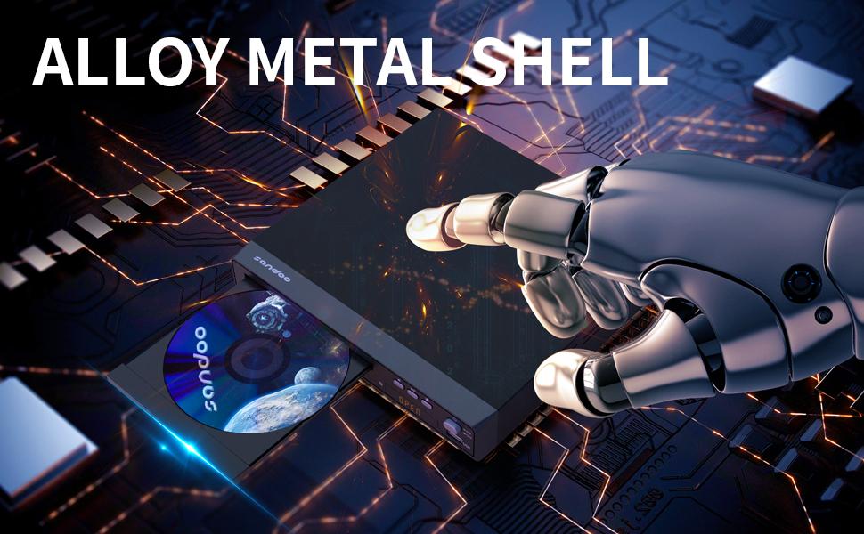 Metal shell