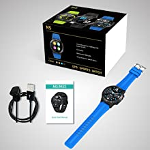 bluetooth smartwatch  Anmino Smart Watch (GPS +Barometer+Altimeter+Compass),Full HD Touchscreen,All-Day Heart Rate and Activity Fitness Tracker,Pedometer,Calorie Counter,Sleep Tracker,Bluetooth smartwatch 5d4bf08c 09fa 49eb 8e0f e7bcc03a3e68