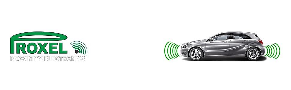 Radar de Stationnement /Électromagn/étique Offre Avant Arriere Sans Percer le Pare-Chocs Proxel Original Version 2019 Kit Universel