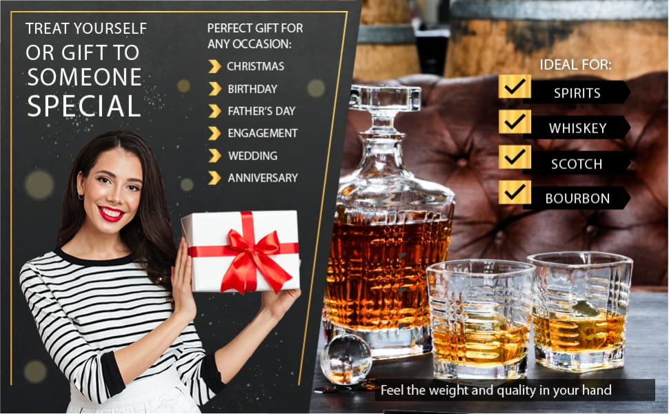 Serveware drink service whiskey stones glassware happy hour dinner cocktails boyfriend birthday 40th