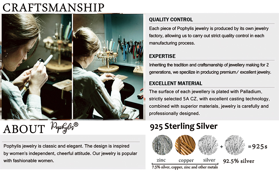 925 sterling silver bridal ring set