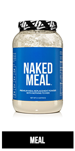 naked meal