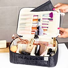 cosmetics cases, large toiletry bag for women, makeup travel bags, womens cosmetic bag, cosmetic bag