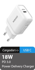 Nimaso Cable USB C 3.0(1M),Cable USB Tipo C a USB A Carga ...