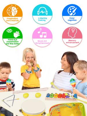 toddler musical instruments set