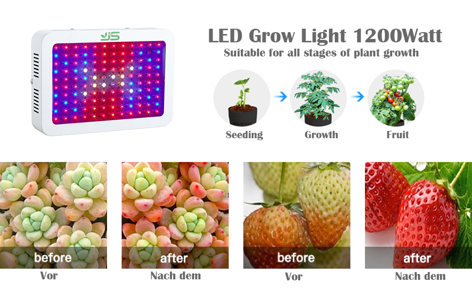 1200W led grow light