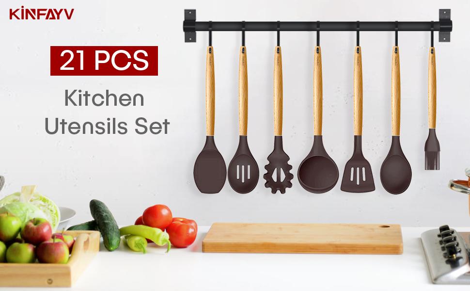 kitchen utensil set cooking utensils set utensils set spatula set