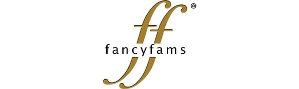 fancyfams stainless steel  drinkware company logo