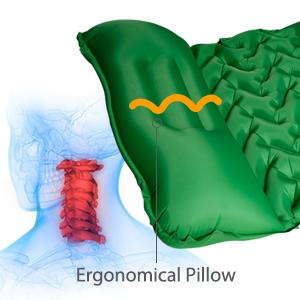 ERGONOMICAL PILLOW