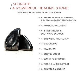 shungite bracelet mala mens jewelry geometry sacred healing gift husband beads modern om energy emf