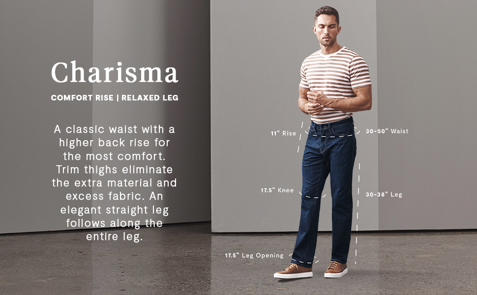 Charisma Fit Relaxed Denim