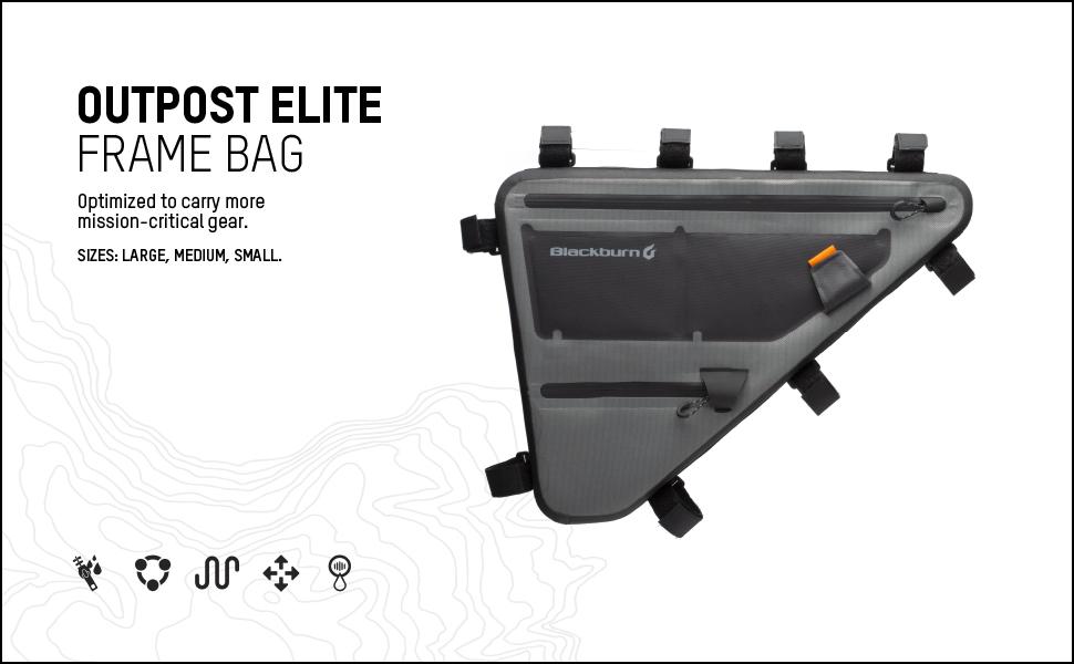 blackburn outpost elite frame bag
