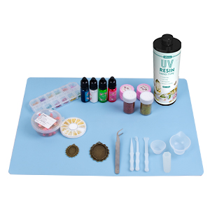 uv resin with silicone mat