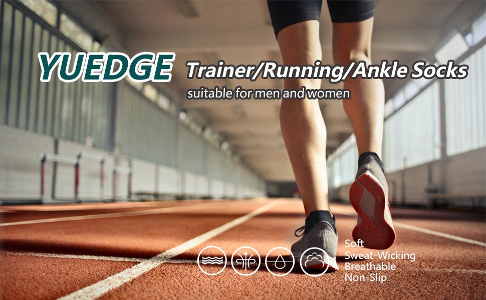 YUEDGE trainer socks