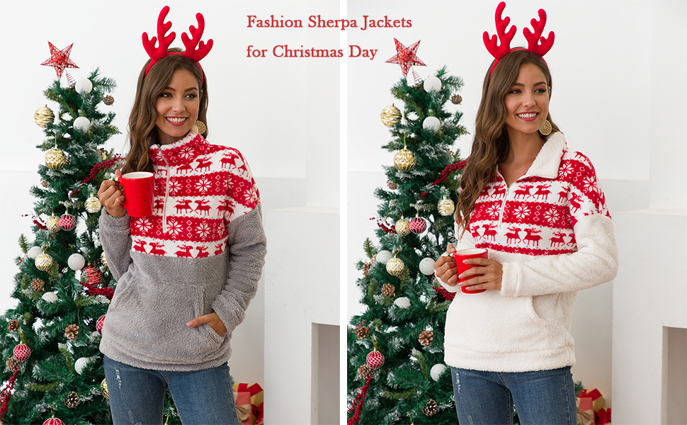 women Christmas jackets