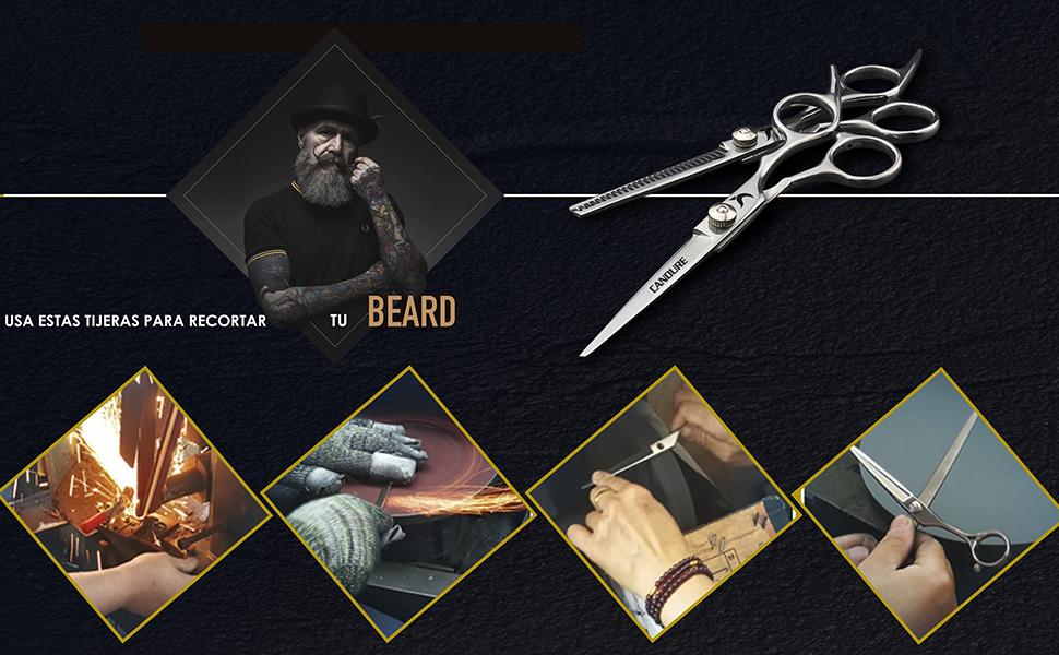 barba acero inoxidable caja de tornillo