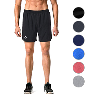 Smoxx Mens Running Shorts Quick Dry Gym Athletic Workout Training Tennis Lightweight Active Shorts No Liner