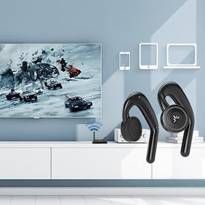 low latency earbuds headphones for tv