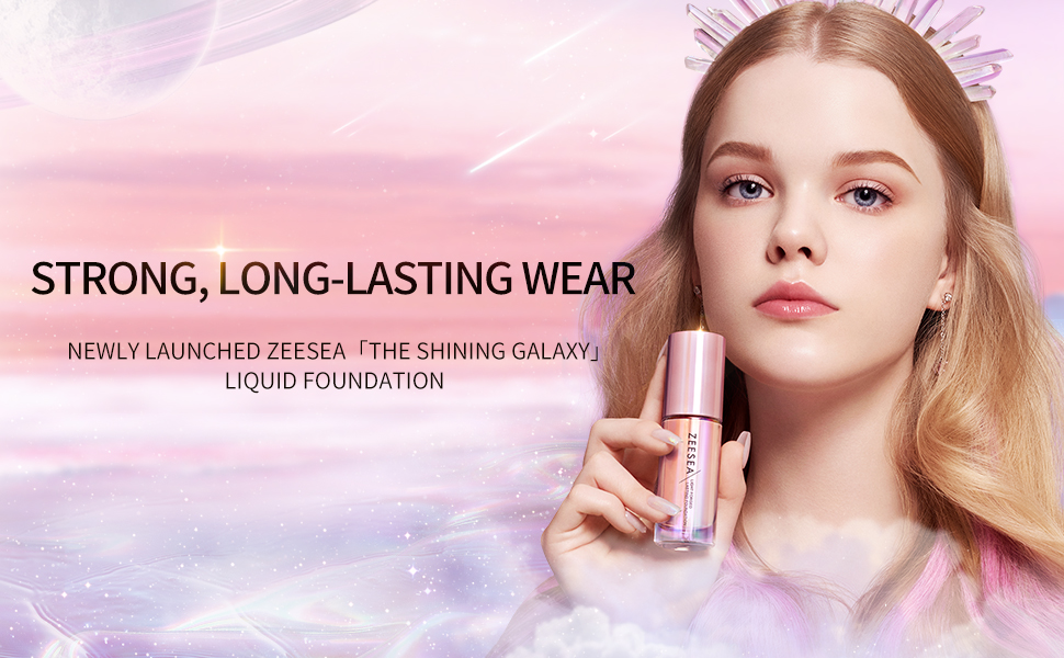 the shining galaxy liquid foundation