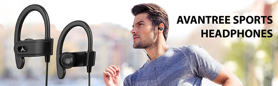 sports wired earphones