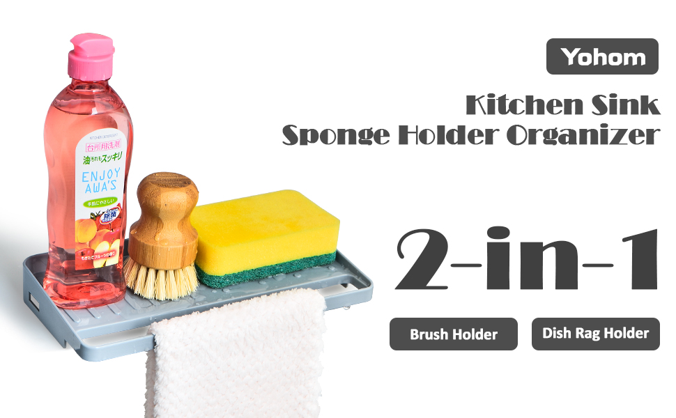 kitchen sink tray sponge holder cup with drain kitchen sponge sink holder dish scrub holder for sink