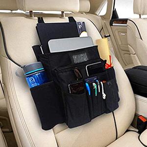 Pejoye Kofferraum Organizer Auto Organizer Rückenlehnenschutz Auto Kinder De Tragbares Multifunktionsgerät Autositzschoner Rückenlehne Kinder Wasserdichtes Oxford Tuch Auto