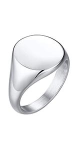 simple signet rings