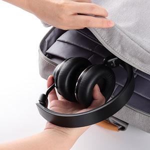 foldabel noise cancelling headphones