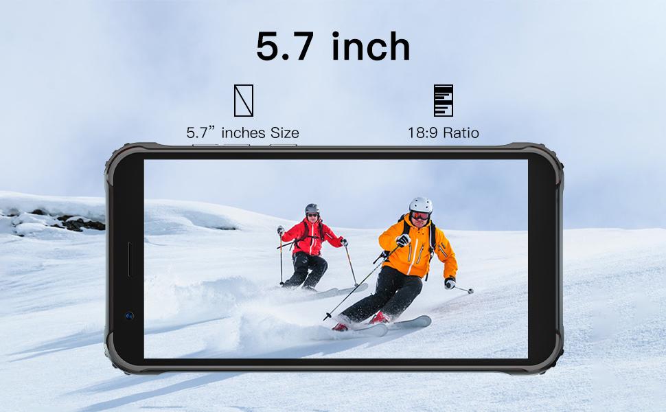 5.7 inch