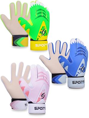 AU Stock Football Latex Goalie Gloves Kids//Adult Soccer Goalkeeper Gloves