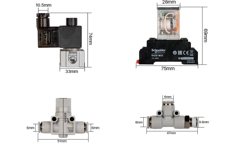 Cloudray Ultimate Air Assist Set für CO2 Laser Schneide Gravur Maschine