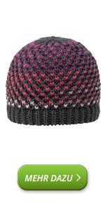 Gorro de lana de merino unisex, suave y deportivo con forro de jersey, gorro para hombre y mujer