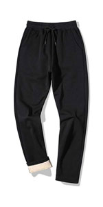 Sherpa Lined Athletic Sweatpants