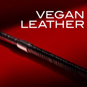 noir flinch crop black vegan leather nickel free hardware