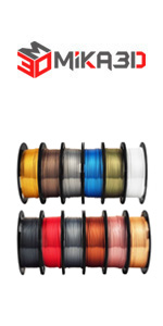 silk shine metallic surface 1.75mm pla filament bundle