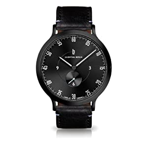 LILIENTHAL BERLIN, MEN'S WATCHES, MEN'S WATCH, ALL BLACK WATCHES, SWISS WATCHES, DRESS WATCHES, QUALITY WATCH