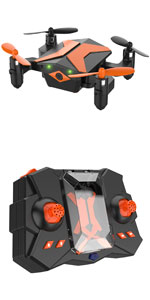 Mini Drone for Kids, RC Helicopter Portable Foldable Drone for Beginners RC Quadcopter