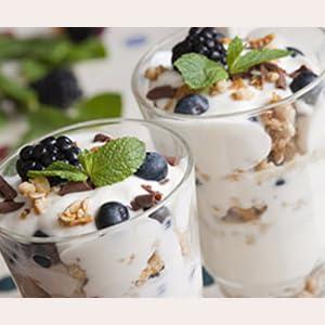 Inulina nello yogurt come fibra prebiotica