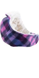 The Worthy Dog Aviator Purple Check Hat