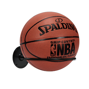 Steel Display Storage Rack for Basketball Volleyball Soccer Ball Kesito Single Ball Wall Mount Holder