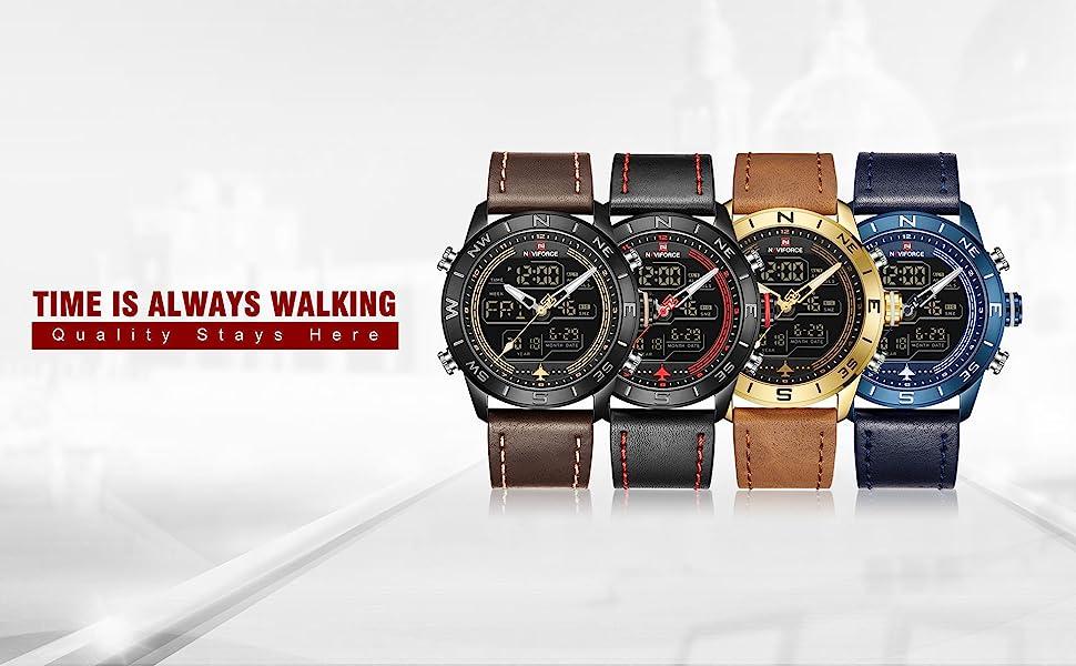 Luxury Quartz Wrist Watches